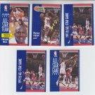 Michael Jordan Trading Card Lot of (5) 1991-92 Fleer #236 #238 #220 #211 Bulls