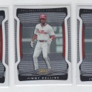 Jimmy Rollins Trading Card Lot of (3) 2009 Topps Finest #11 Phillies