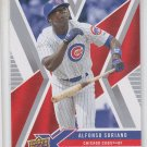 Alfonso Soriano Trading Card Single 2008 UD X #21 Cubs