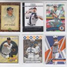 Justin Verlander Lot of (6) Topps & Upper Deck No Dupes Tigers
