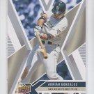 Adrian Gonzalez Trading Card Single 2008 UD X #80 Padres
