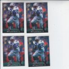 Leroy Thompson Trading Card Lot of (4) 1995 Upper Deck #272 Steelers