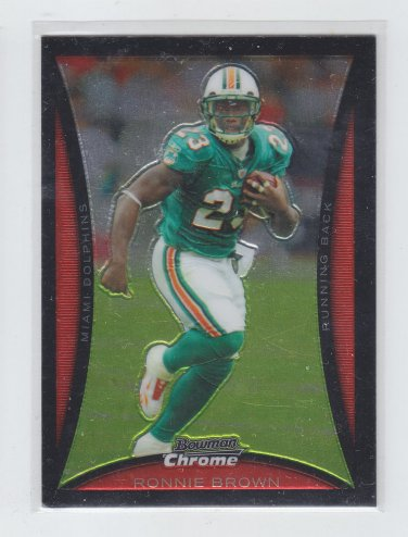 Ronnie Brown Trading Card Single 2008 Bowman Chrome #163