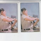 Mickey Mantle 53 Bowman Reprint Trading Card Lot of (2) 1989 Bowman Yankees