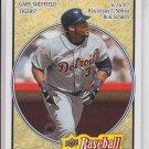 Gary Sheffield Trading Card Single 2008 UD Heroes #63 Tigers