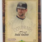 Todd Helton Trading Card Single 2007 UD Artifacts #42 Rockies