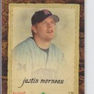 Justin Morneau Trading Card Single 2007 UD Artifacts #17 Twins