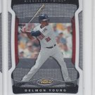 Delmon Young Trading Card Single 2009 Topps Finest #93 Twins