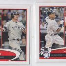 Alex Rodriguez Jim Thome Jason Giambi  Trading Card Lot of (2) 2012 Topps #91
