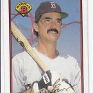 Dwight Evans Oversize Trading Card Single 1989 Bowman #35 Red Sox