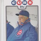 Lou Pinella Trading Card Single 2008 Topps #329 Cubs MGR