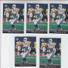 Jim Harbaugh Trading Card Lot of (15) 1996 Upper Deck #242 Colts