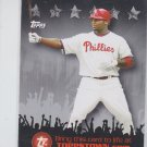 Ryan Howard Trading Card Single 2009 Topps Town #TTT9 Phillies