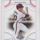 Mike Schmidt Trading Card Single 2008 Donruss Threads #38 Phillies