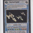 Y Wing Assualt Squadron Rare Star Wars Decipher A New Hope Limited x1*ROB