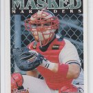 Javier Lopez Masked Marvels Trading Card 1998 Collector's Choice #184 Braves