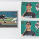 Jay Bell Lot of (3) 2000 Aurora #5 x2 2000 Topps #185 x1 Diamondbacks *BILL