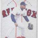 Mo Vaughn Dress For Success Cloth SP 1997 Leaf Red Sox 1118/3000