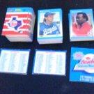 1987 Fleer Mini Baseball Hand Collated Set 120 & 18 Stickers Brett Schmidt *ED