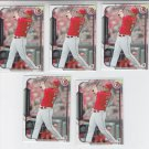 Jay Bruce Trading Card Lot of (5) 2015 Bowman #4 Reds