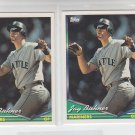 Jay Buhner Trading Card Lot of (2) 1994 Topps #472 Mariners