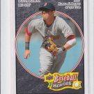 Dustin Pedroia Black Parallel 2008 Upper Deck Heroes #30 Red Sox