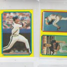 B.J. Surhoff Siuper Star Mini Lot of (2) 1988 Topps #57 Backs #35 & #44 #226