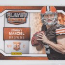 Johnny Manziel Promo 2014 Panini Player of the Day #RC-1 Browns