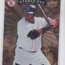 David Ortiz Starquest Gold Rare SP 2008 Upper Deck #SQ-8 Red Sox