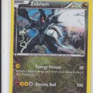 Zekrom Reverse Holo Rare Pokemon XY Roaring Skys #64/108 x1 Unplayed