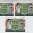 Reese McGuire & Austin Meadows Draft Day Lot of (3) 2013 Bowman #DD-MM Pirates