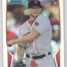Drake Britton RC Refractor 2013 Bomwan Chrome #16 Red Sox