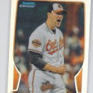 Jim Johnson Refractor 2013 Bowman Chrome #185 Orioles