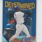 Sammy Sosa Determined Insert 2000 Fleer Gamers #8D Cubs *BILL