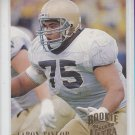 Aaron Taylor RC Trading Card Single 1989 Pro Set #112 Packers