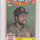 Tony Gwynn All-Star Commeorative Trading Card Single 1989 Topps #8 Padres  *BILL