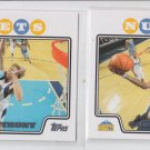 Carmelo Anthony Trading Card Lot of (2) 2008-09 Topps Chrome #15 Nuggets