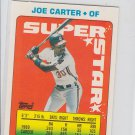 Joe Carter Super Star Sticker Backs 1990 Topps #48 Indians  122 250