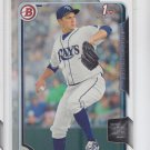 Matt Andriese Trading Card Single 2015 Bowman #BP67 Rays