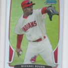 Michael Bourn Refractor 2013 Bowman Chrome #146 Indians