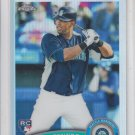 Carlos Peguero RC Refractor 2011 Topps Chrome #219 Mariners