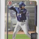 Gilbert Lara Trading Card Single 2015 Bowman #BP121 Brewers
