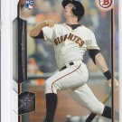 Gary Brown RC Trading Card Single 2015 Bowman #142 Giants