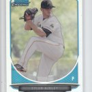 Tyler Kinley Refractor 2013 Bowman Chrome Draft #BDPP88 Marlins