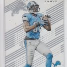 Calvin Johnson Football Trading Card 2015 Panini Clear Vision #36 Lions