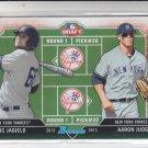 Eric Jagielo & Aaron Judge Draft Day Single 2013 Bowman #DDJJ Yankees