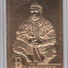 Tris Speaker 22K Gold Embosses Trading Card Single 1996 Danbury Mint #20