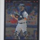 Jorge Posada Trading Card Single 2007 Topps Chrome #114 Yankees