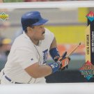 Cecil Cooper Trading Card Single 1993 Upper Deck #499 Tigers