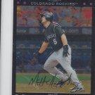 Matt Holliday Trading Card Single 2007 Topps Chrome #113 Rockies
